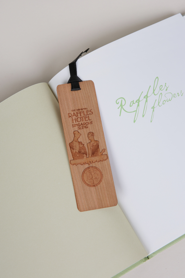 Raffles iconic Woodcut BookMark