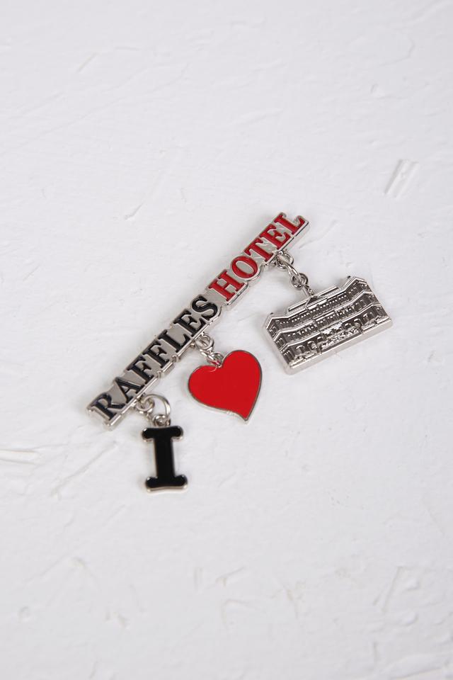 Raffles Icon Dangling Magnet
