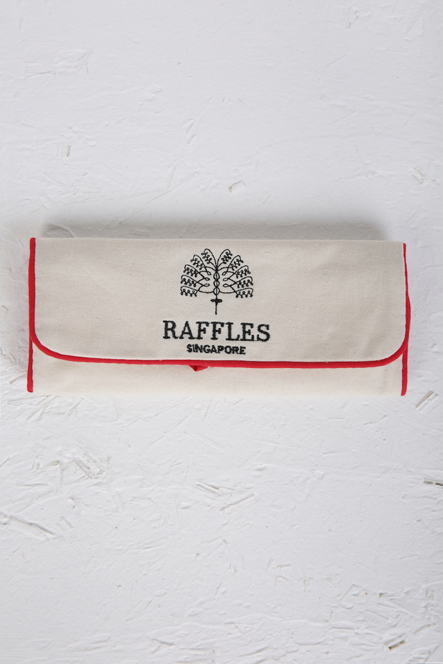 Raffles Embroided Jewellery Pouch
