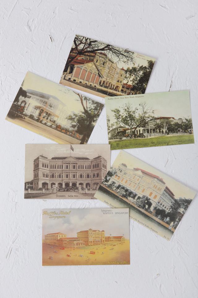 Raffles Classic Post Cards