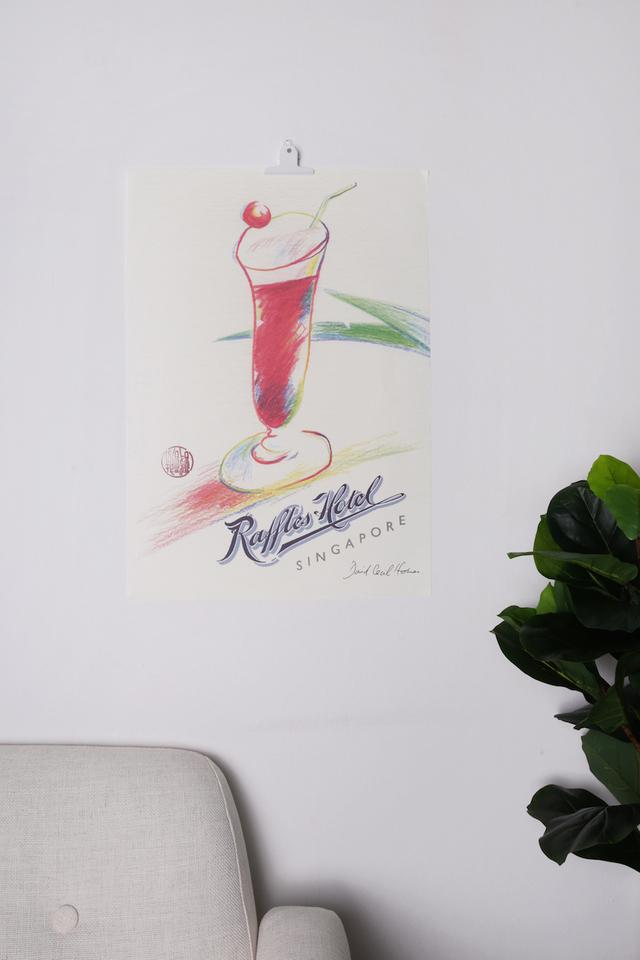 シンガポールスリングの<br>ポスター/Singapore Sling Poster