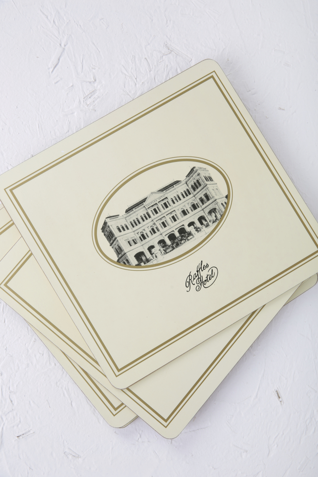 Raffles Heritage Cork Backed Placemat