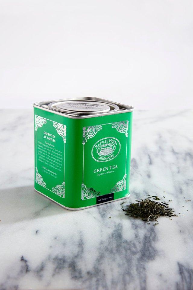 ラッフルズ<br> グリーンティー<br> (リーフティー)/Raffles Green Tea Loose Leaf Tea