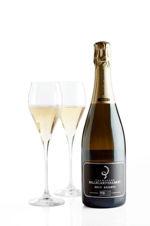 ビルカール・サルモン <br>ブリュット・レゼルヴ <br>NV シャンパン/Billecart Salmon Brut Reserve NV Champagne