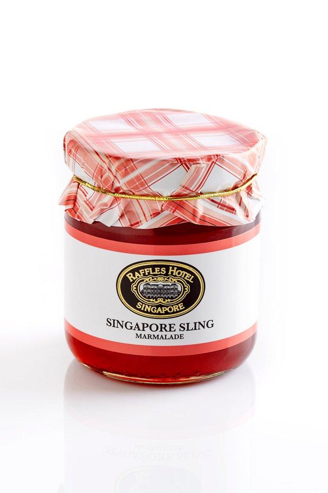ラッフルズ・グルメ <br>シンガポールスリング<br>風味のマーマレード/Raffles Gourmet Singapore Sling Marmalade