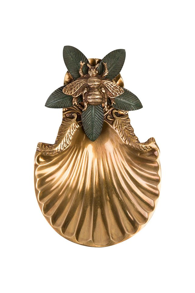 Artisanal Bee Brass Dish