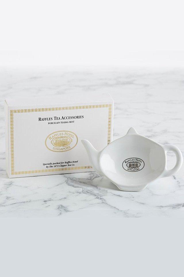 Raffles Classic Porcelain Tea Bag Rest