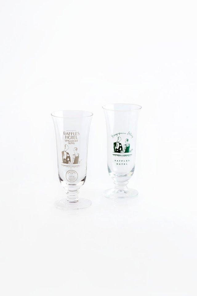 ラッフルズのシンガポール<br>スリング用グラス/Raffles Singapore Sling Glass