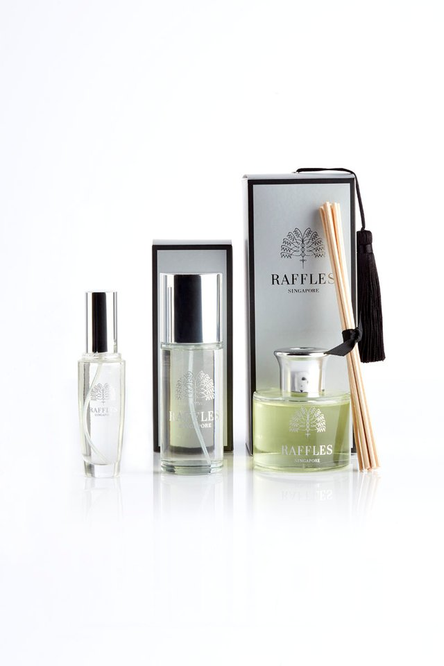 Raffles Frangipani EDT, Room Spray and Diffuser