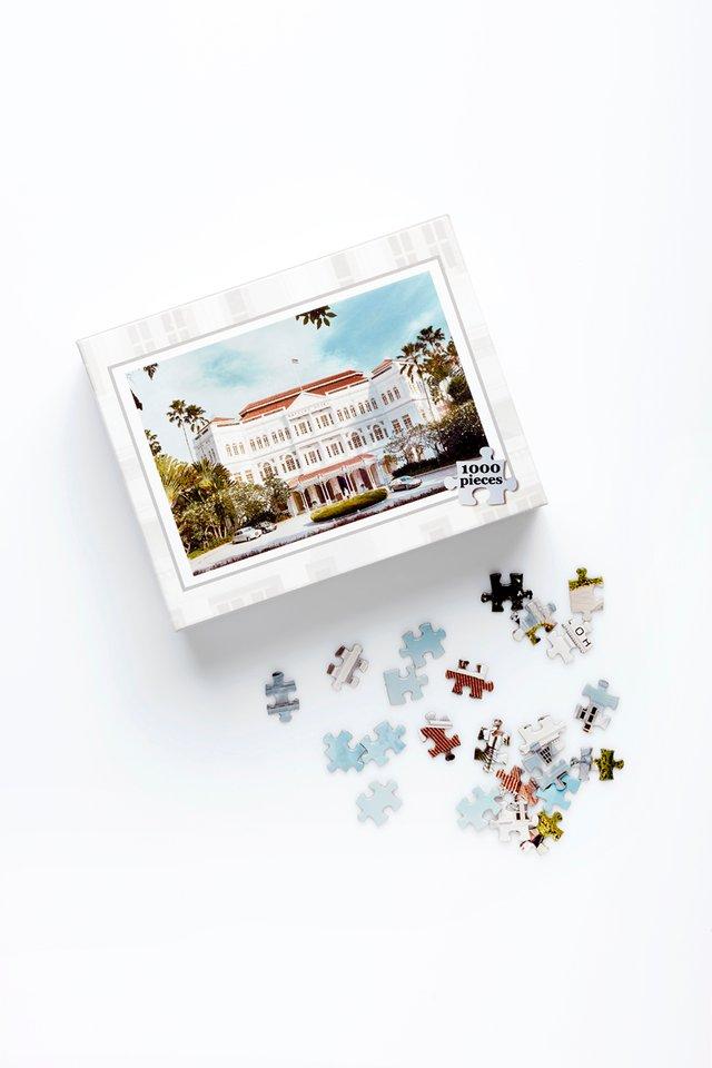 Raffles Façade Jigsaw Puzzle