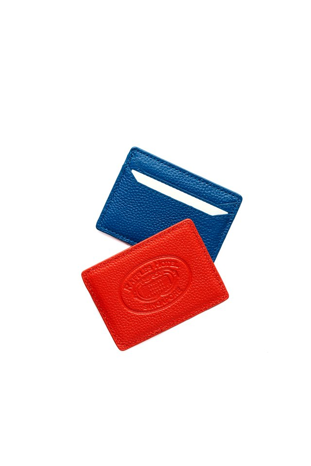 Leather Name Card Holder with Raffles Logo