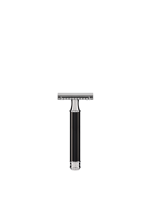 ミューレ Traditional  <br>黒の安全カミソリ/Traditional Black Safety Razor Blade by MÜHLE
