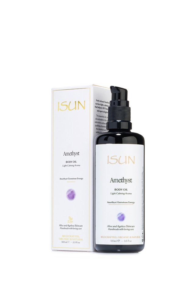 ISUN Amethyst Body Oil